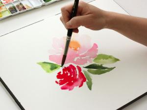 Workshop aquarel