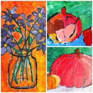 herfst teken schilder cursus